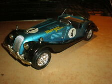 Tonka Polistil 1/16 Morgan Plus 8   blue metallic     Mint no box
