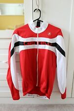 CastelliLong Sleeve Jersey, XL, RED/BLACK -Mint Condition
