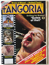 FANGORIA Magazine # 29 Scream Greats POSTER #4 HORROR 1983 Gates Of Hell
