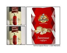 "Farina Caputo""00″Rossa Rinf. kg 25+ 2Barattoli  Pomodoro SanMarzano dop da 500gr"