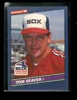 1986 DONRUSS #609 TOM SEAVER EXMT WHITE SOX
