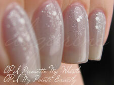 NEW! OPI Nail Polish Vernis PIROUETTE MY WHISTLE ~ Silver Sparkle