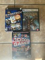 PC game lot of 3- GREAT BUY!!!! Very Good & Complete Fast Ship!