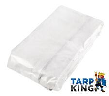 Semi-Transparent Clear Tarp 5.0m x 10.0m Waterproof Wedding Party Tarpaulin