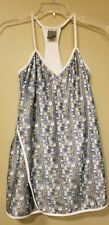 NIKE size XS (0-2) Dry-Fit Racerback Tennis Dress silver gray wore 1 time