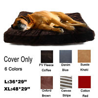 Durable Washable Large Dog Pet Bed Mat COVER Do It Yourself 6 Comfort Material