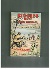 W. E. JOHNS  Biggles and the Missing Millionaire - 1961 CBC edition in d/w