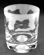 More details for pomeranian frieze boxed 30cl glass whisky tumbler