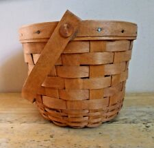 Vintage Longaberger 1999 Collectors Club Homestead Basket with Protector