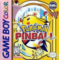 Pokemon Pinball Game - Game Boy Color