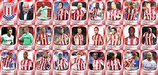 Stoke City Football Squad Trading Cards 2017-18