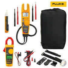 Fluke T6-1000 Tester and 325 True RMS Clamp meter KIT4O with 1AC TPAK and Case