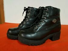 WOMENS HARLEY DAVIDSON BOOTS SIZE 7