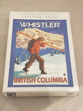 Lantern press Whistler British Columbia 1000 pieces puzzle NEW SEALED RARE