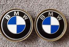 2 tapas de BMW centro de rueda de aleación
