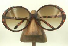Vintage Liz Claiborne Tortoise Oversized Oval Butterfly Sunglasses Frames China