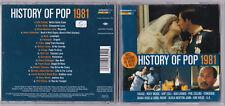 HISTORY OF POP 1981 - (Visage, Roxy Music, Foreigner...) CD near mint
