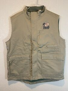 NWOT Red Head Brand Bass Pro Shops Legends Insulated Fishing Vest Tan Mens Large