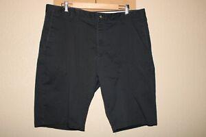 "VOLCOM Mens 38"" Waist black chino shorts Combine ship Discount"