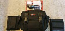 Focus Deluxe Professional SLR Camera Bag (New) & Len cleaning kit