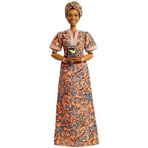 Barbie Signature Inspiring Women: Maya Angelou Collector Doll Brand New Toy Gift