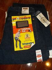 13MWZDD Mens Wrangler Cowboy Cut Pre Washed Original Fit Jeans 28 x 36 NWT