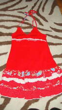 BOUTIQUE KATE MACK GIRS 6 RED RUFFLED HATER DRESS