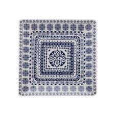 Maxwell & Williams Blue Antico 13-3/8 Inch Square Platter BRAND NEW