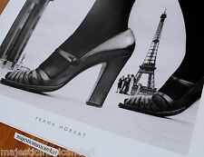 BEAUTIFUL CHAUSSURES ET TOUR EIFFEL FRANK HORVAT FASHION POSTER PARIS, 2011