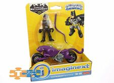 Catwoman & Motorcycle Imaginext 2017 DC Super Friends Action Figure Set NEW