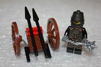 """LEGO Minifigures Knights Ritterwelt """" Ritter mit Wagen """"  Top  Zustand"""