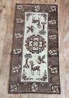 Art Deco Chinese  Hand Woven Rug With Animal Motives