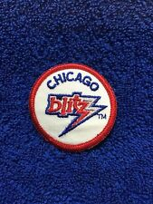 CHICAGO BLITZ OLD SCHOOL LOGO VINTAGE PATCH BRAND NEW GREAT COLLECTIBLE