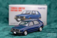 [TOMICA LIMITED VINTAGE NEO LV-N71b 1/64] VOLKSWAGEN VW GOLF 2 CLi (Blue)