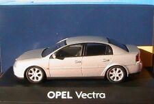 OPEL VECTRA 2002 METAL SILVER SCHUCO 1/43 BERLINE 4 PORTES DOORS ARGENTE GRIS