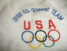 KEVIN YOUNG TRACK & FIELD WORN USA OLYMPIC TEAM ROBE HURDLES WORLD RECORD
