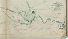 Map of the Battlefield of Chancellorsville, Va.     -      Civil War