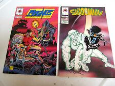 LOT 2 * VALIANT COMICS * SHADOWMAN * 1994 #25 & 1993 MAGNUS   #24  F/F