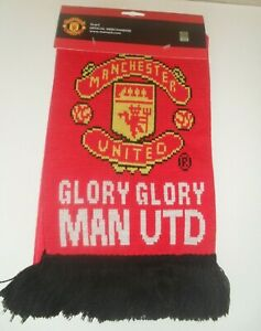 MANCHESTER UNITED FOOTBALL SCARF
