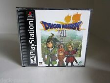 Dragon Warrior VII Sony PlayStation 1, 2001. Everything is mint or near mint!