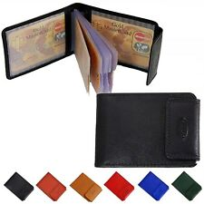 Branco Classic 8127 Kreditkartenetui Leder 10x8x1cm schwarz