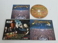 Majestic – Trinity Overture / Massacre Records Mas DP0245 CD Album Digipak