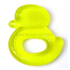 Baby Duck teething water filled teether rattle ring soothe gums BPA free
