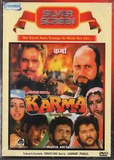 KARMA - NEW ORIGINAL BOLLYWOOD DVD - DILIP KUMAR, ANIL KAPOOR, JACKIE SHROFF.