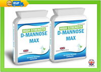 180 D Mannose Capsules Supports Healthy Urinary Tract Cystitis Relief UTI