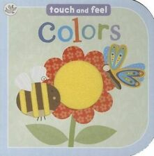 NEW Colors: Touch and Feel (Little Learners) by Parragon Books