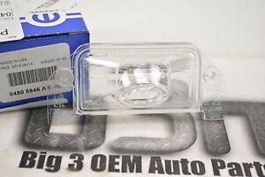 Chrysler 200 300 Dodge Dart Avenger License Plate Lamp Lens new OEM 4805846AB