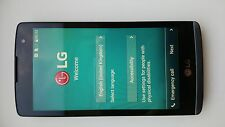 LG Leon LGH340 H340 Y50 black/titan unlocked 8GB mobile phone