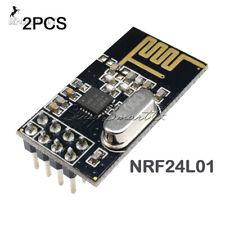 2PCS Arduino NRF24L01 2.4GHz módulo transmisor-receptor RF inalámbrico NUEVO Bajo consumo
