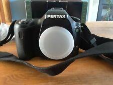 Pentax IST DS Digital SLR Camera - Body, manual and cords, original box